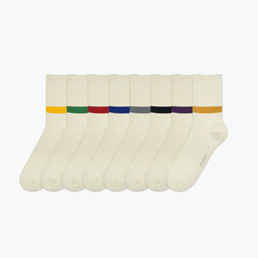 ONE POINT SOCKS [8 COLOR]